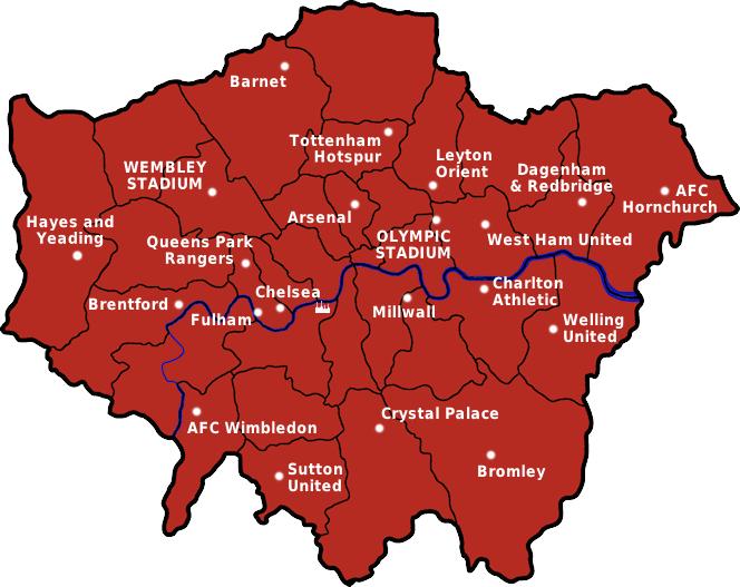 FuГџballmannschaften London