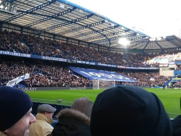 Simone in quel di 'Stamford Bridge'
