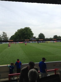 AFC_Wimbledon_Shrewsbury_Intervallo